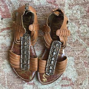 Sam Edelman garrison sandals. Size 5